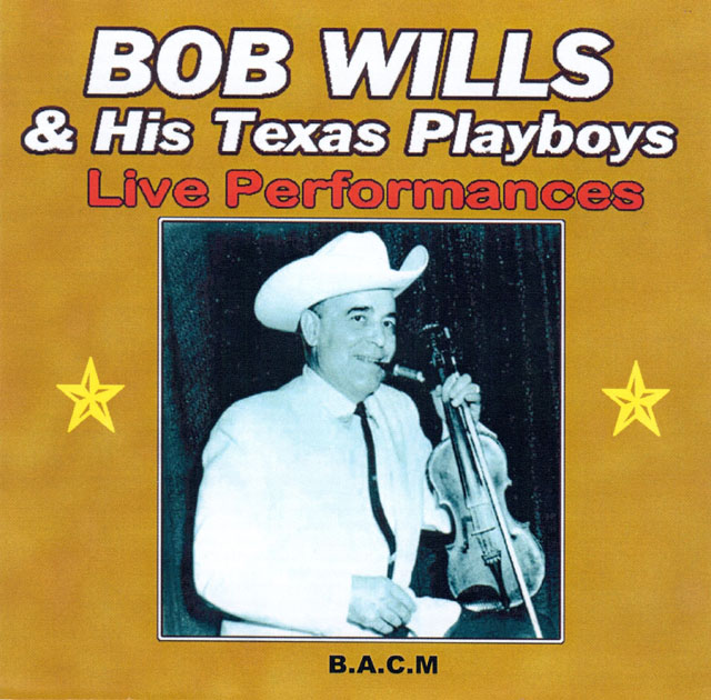 OJ-Bob Wills CD cover