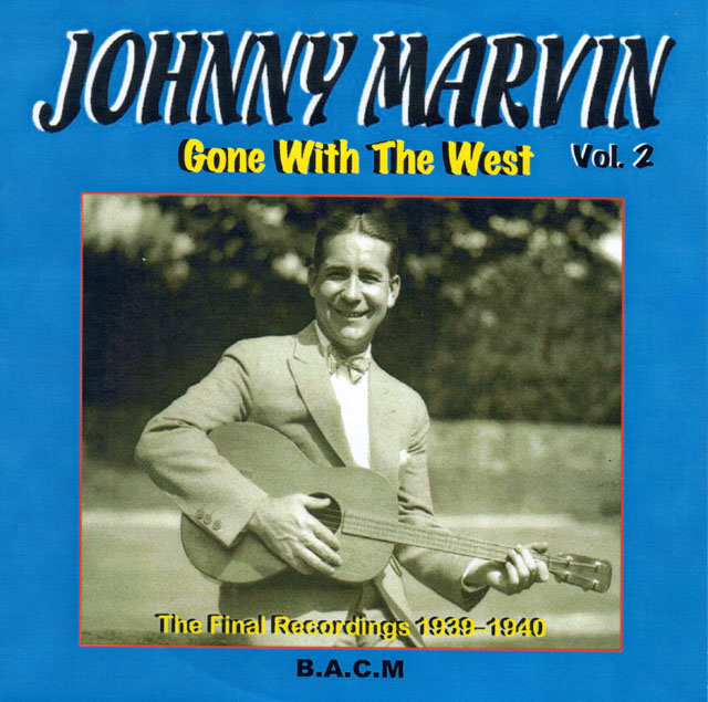 OJ-Johnny Marvin CD cover