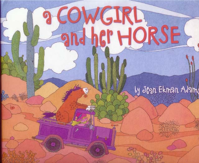 kisken-book-cowgirl and horse