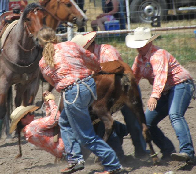 Nebraska Women S Ranch Rodeo By Bob Kisken Rope Burns