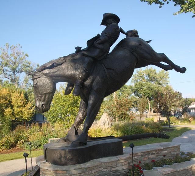 Chris Ledoux Memorial Park By Bob Kisken Rope Burns