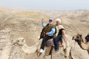 Mike and Lori picture on Camel