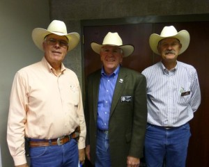 Jim Buchanan, Prescott Mayor Harry Oberg and Joe Konkel