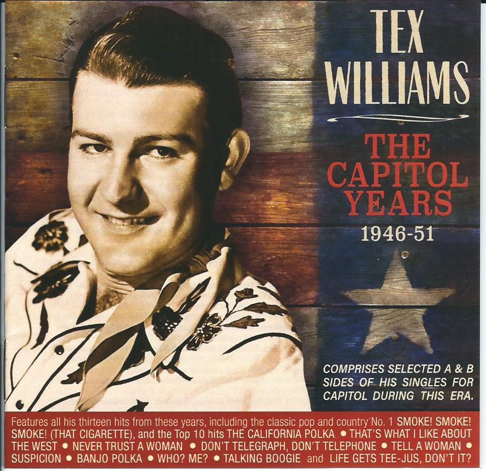OJ-Tex Williams CD Cover